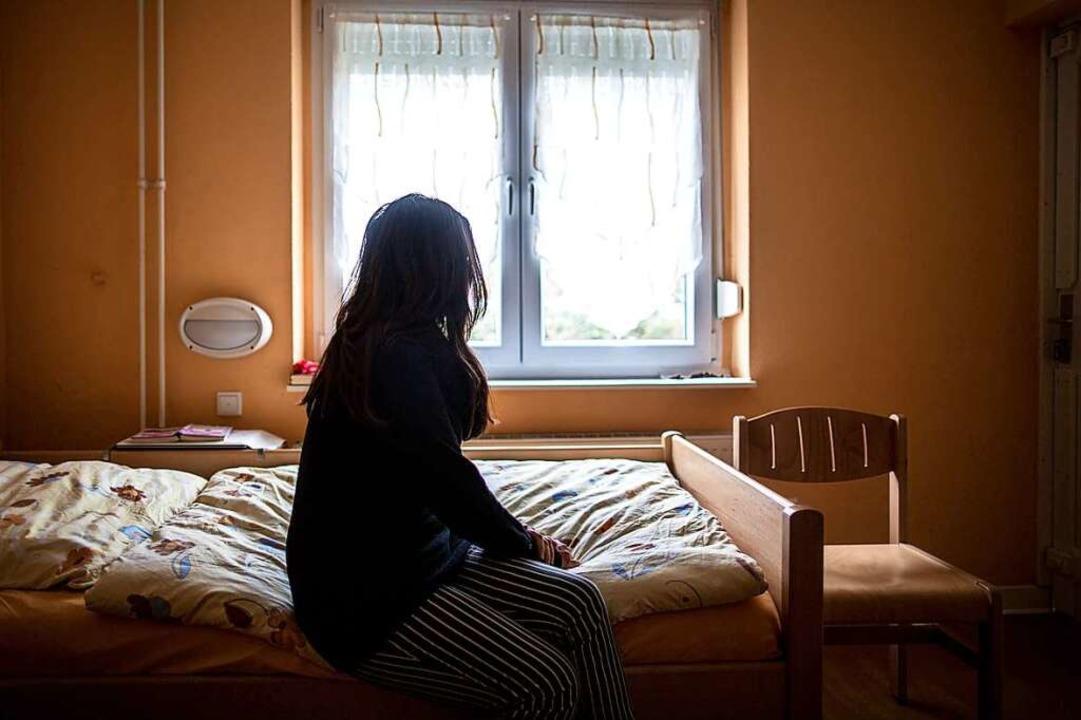 Die Situation der Frauenhäuser ist in ...Württemberg nicht optimal (Symbolbild)  | Foto: Maja Hitij (dpa)