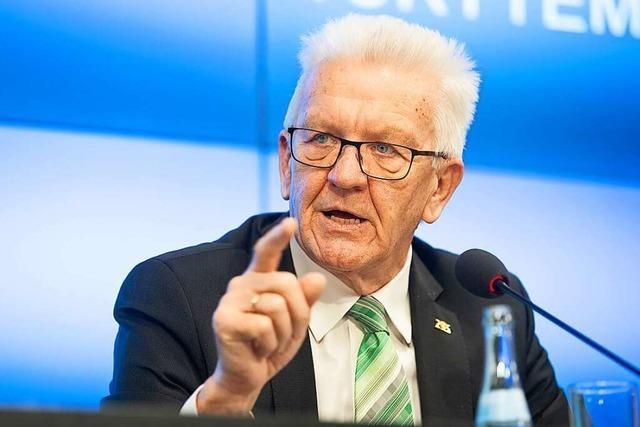 Grünen-Spitzenkandidat Kretschmann: