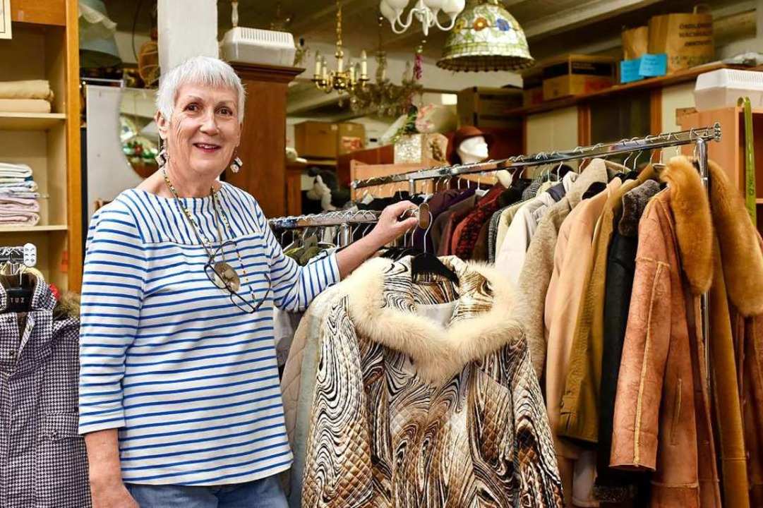 Die Vorsitzende Veronika Lehmann vom V...r Sedanstraße bald wieder öffnen kann.  | Foto: Thomas Kunz