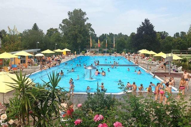 Das Stadtfest in Ettenheim fällt aus, das Schwimmbad soll im Mai öffnen