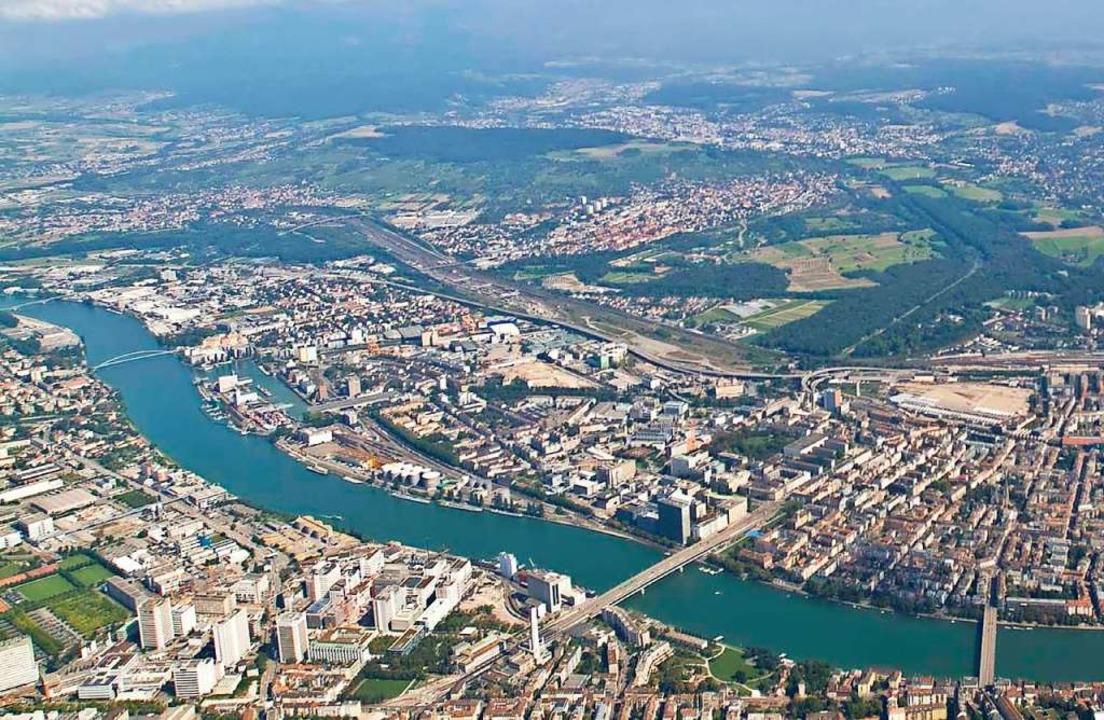 Die trinationale Stadtentwicklung zwis... auch bei der IBA eine wichtige Rolle.  | Foto: Kanton BS