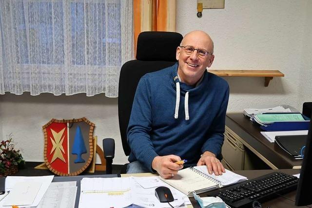 Gündlingens neuer Ortsvorsteher Thomas Vierlinger: