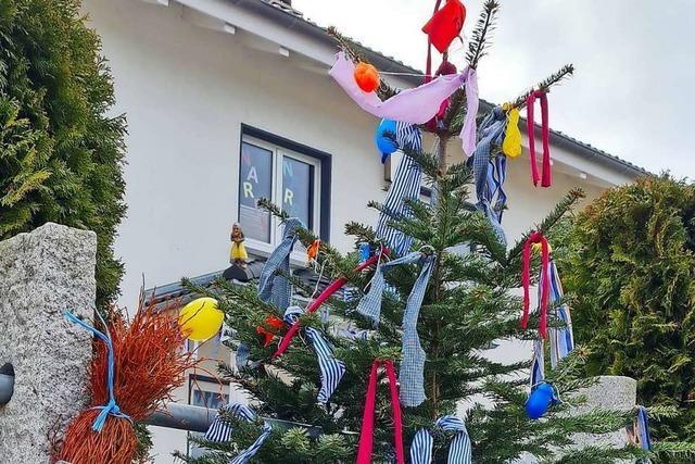 Der Narrenbaum hat eine lange Tradition