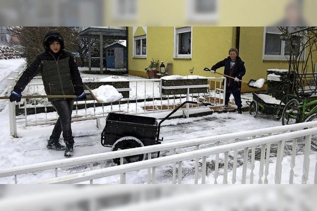 Winterdienst in Nordweil