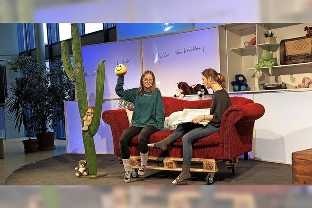 Lockdown-Show mit Franz, dem Kaktus