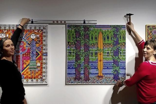 Ein künstlerisches Gespräch als Ausstellung