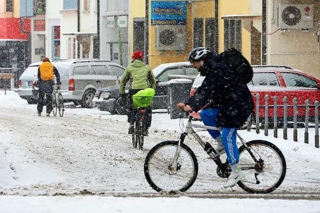 Freiburg bleibt beim zweiten Wintereinbruch cool
