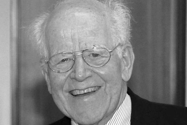 Der Freiburger Forscher Wolfgang Gerok ist tot