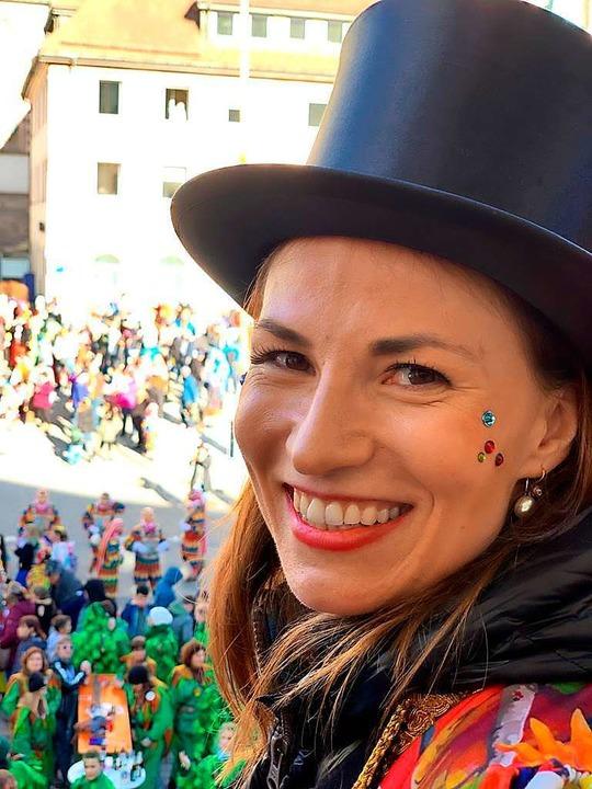 Meike Folkerts im Februar 2020 als Zir...s Bürgermeisterin von Titisee-Neustadt  | Foto: Privat