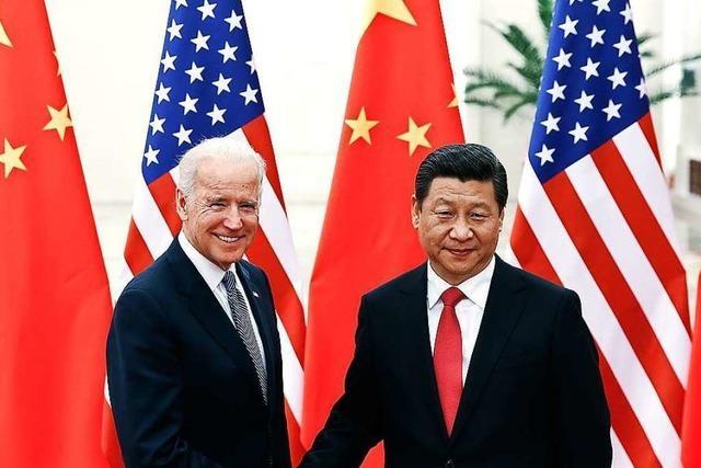 Telefonat mit Xi: Biden macht Druck bei Handel und Menschenrechten
