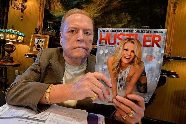 Der legendäre Porno-Mogul Larry Flynt ist gestorben