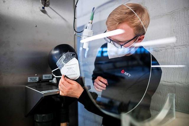 Baden-Württemberg ruft 3,5 Millionen Masken zurück