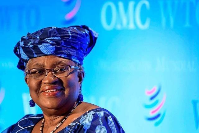 Ngozi Okonjo-Iweala wird die erste Frau und Afrikanerin an der Spitze der WTO