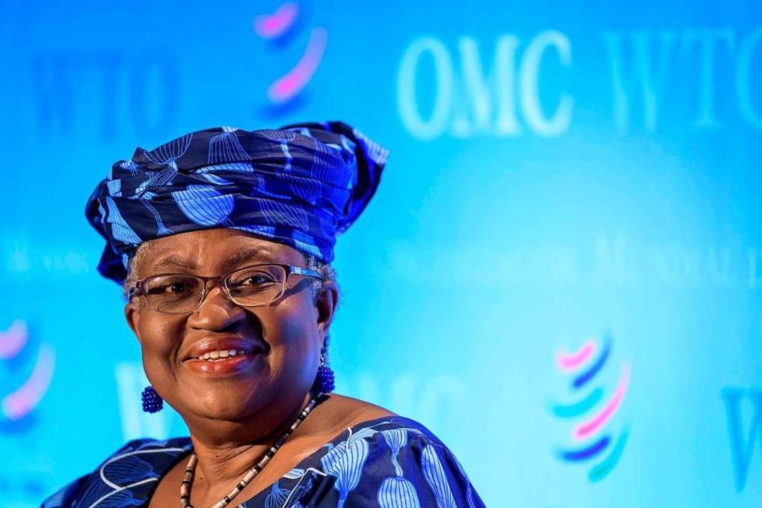 Eine taffe Verhandlungskünstlerin: Ngozi Okonjo-Iweala    Foto: FABRICE COFFRINI (AFP)