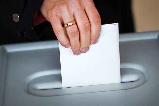 Die Wahlzettel für die Wahl in Neuried sind ungültig und werden neu gedruckt