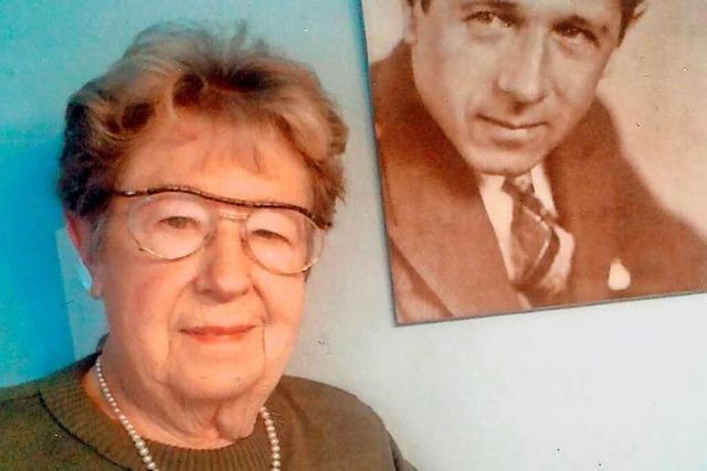 Lia Isele-Riecke führte lange ein traditionsreiches Fotogeschäft