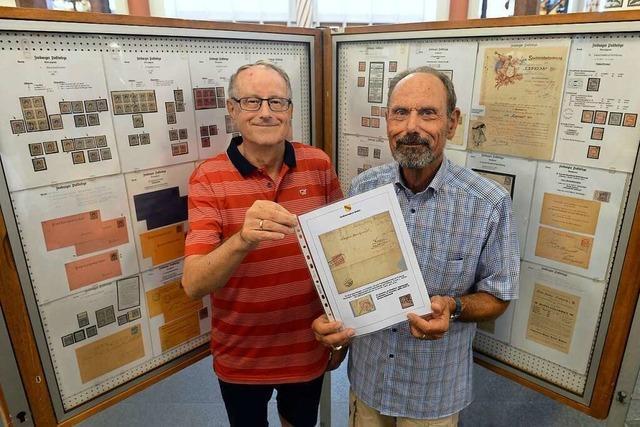 Briefmarkensammlerverein Freiburg betreibt eine Ausstellung