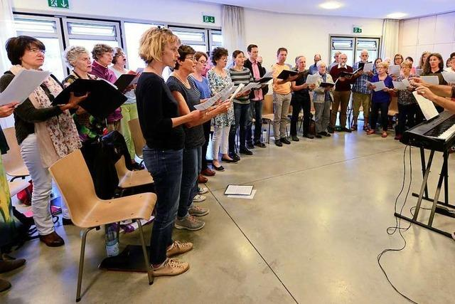 Ökumenischer Chor Rieselfeld ist offen für Christen und alle anderen