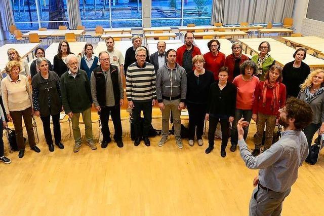 Der Chor Collegium Vocale hat einen professionellen Anspruch