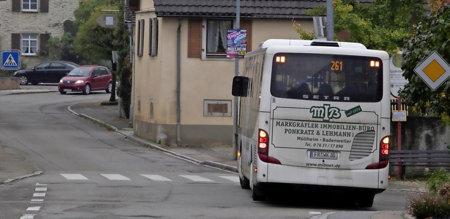 Derzeit verbindet die Linie 261 Sulzbu...diese Strecke nur noch Schülerverkehr.  | Foto: Volker Münch