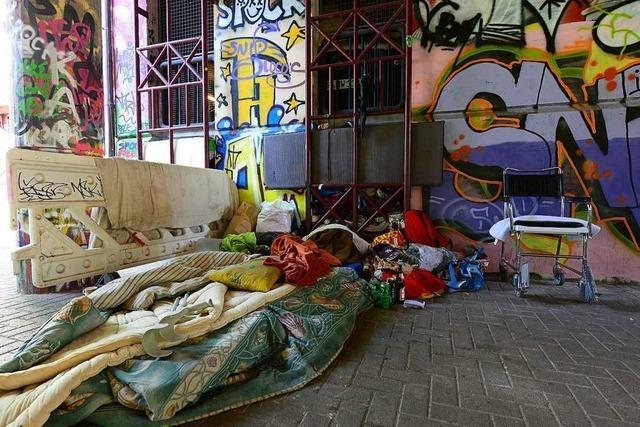 Freiburger Stadtverwaltung kümmert sich verstärkt um Obdachlose