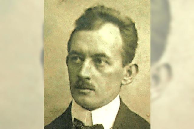 Der Gründer der Kappler Volksschauspiele