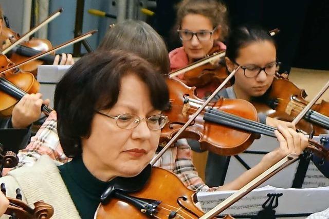Ivetta Viatet ist eine Geigerin mit russischer Seele