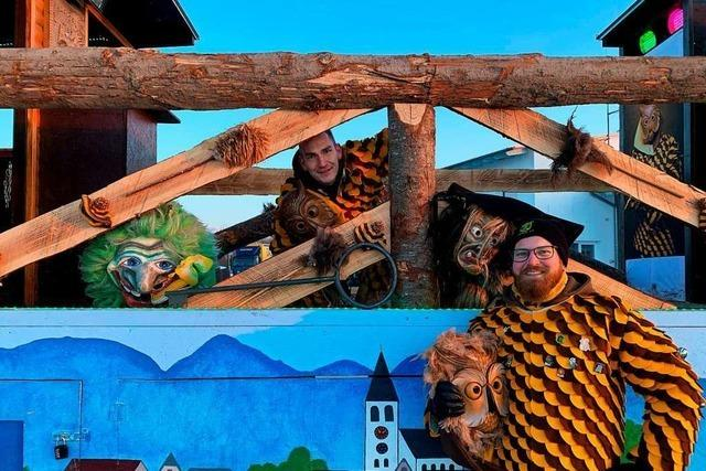 Markgräfler Narren feiern den Fasnachtsauftakt im Corona-Modus