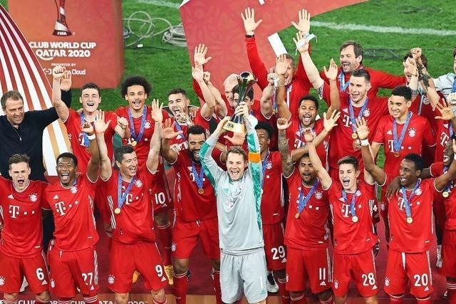 Die Bayern sind jetzt auch noch Club-Weltmeister