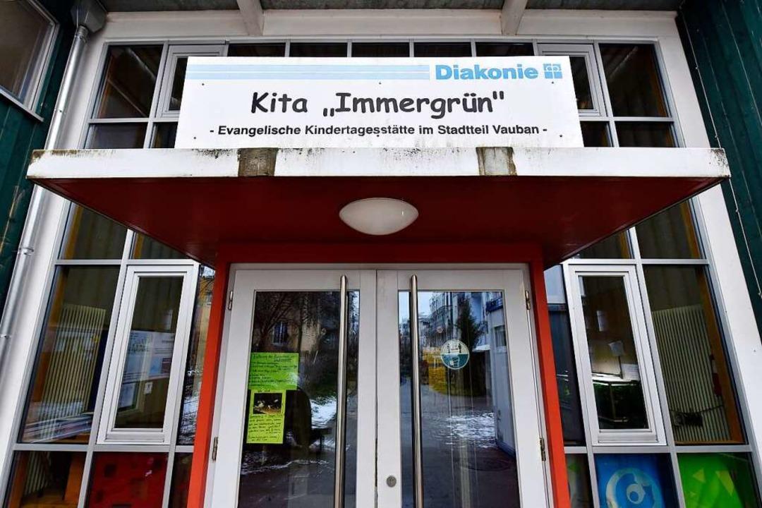 Erstmals festgestellt in Freiburg wurd...er Kita Immergrün im Stadtteil Vauban.  | Foto: Thomas Kunz