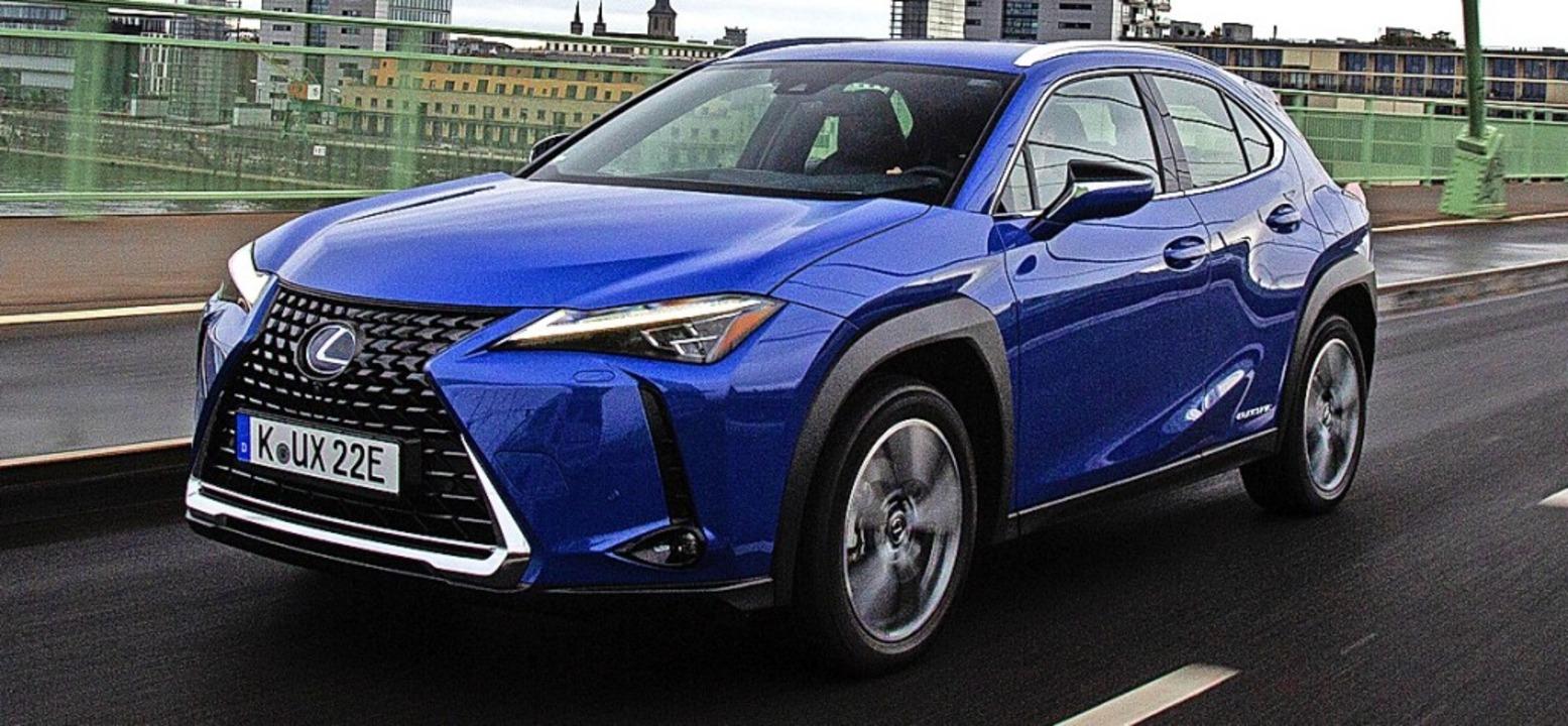 Das eigenständige Design bleibt auch der E-Variante erhalten.  | Foto: Lexus