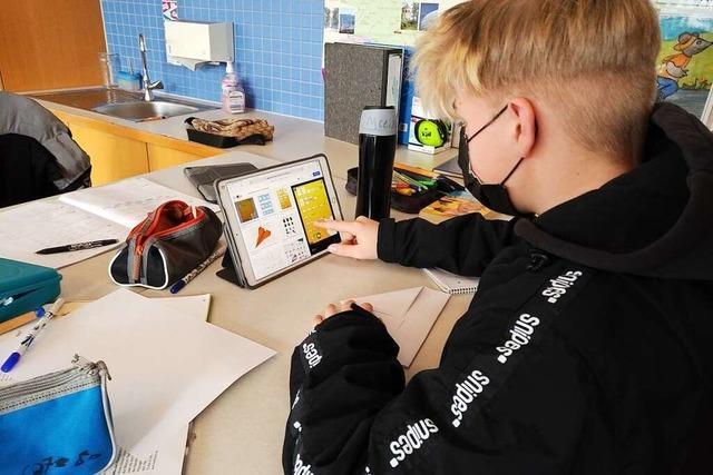 Am Meret-Oppenheim-Schulzentrum macht das digitale Lernen Fortschritte