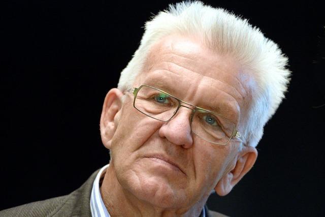 Kretschmann tritt im Wahlkampf kürzer, weil seine Frau an Brustkrebs leidet
