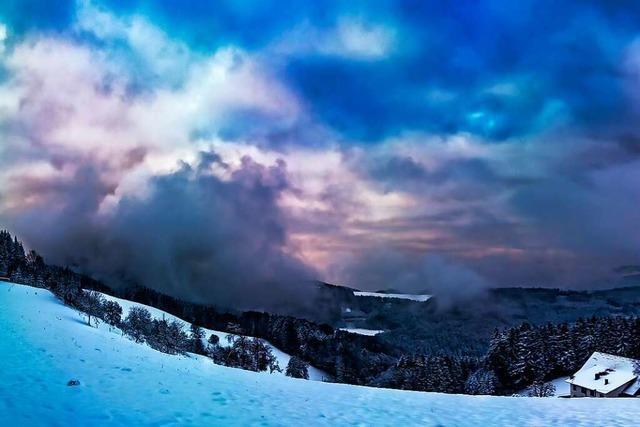Mit Macht meldet sich bei Freiamt der Winter zurück
