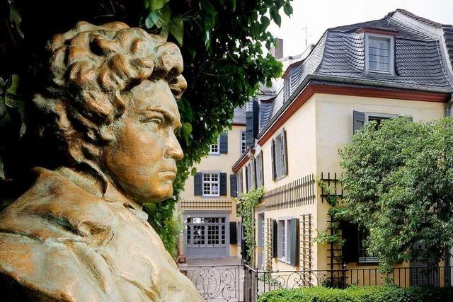 Freuen Sich sich auf das Beethovenfest und Bonns Umgebung!