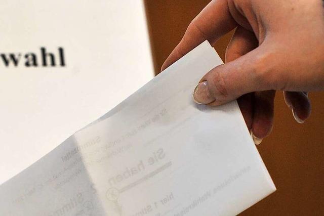 Die meisten Parteien in Lahr verzichten auf Wahlkampfstände – es gibt aber Ausnahmen