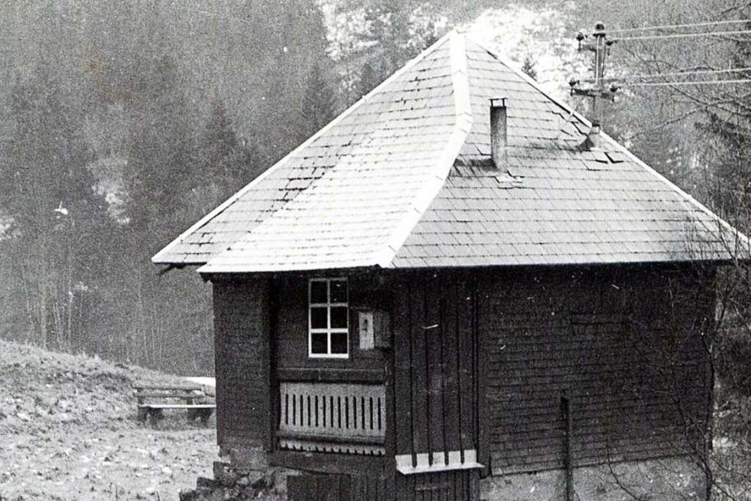 Abseits der Löffelschmieden standen di...nhäusle steht noch in der Bruderhalde.  | Foto: Archiv Roland Weis