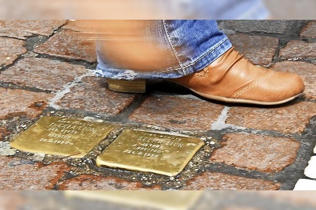 Stolpersteine-Initiative fühlt sich von Stadt Schopfheim übergangen