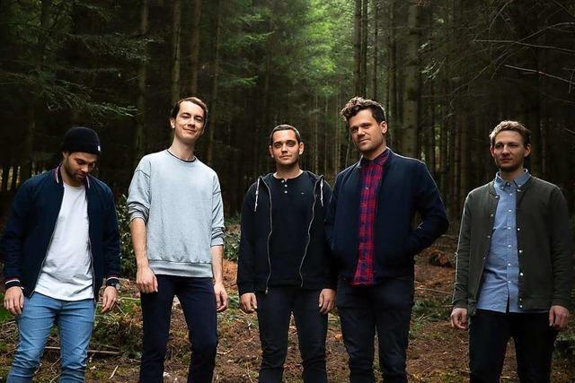 Die Lahrer Postrock-Band There's A Light hat einen weltweiten Plattendeal unterschrieben