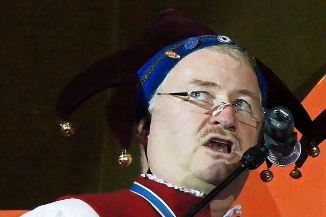 Ralf Thormählen ist die Stimme der Endinger Fasnet