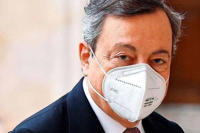 Ex-Währungshüter Draghi übernimmt die Macht in Rom