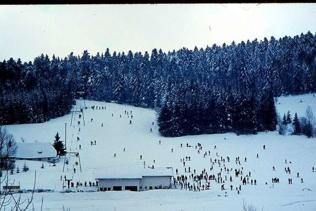 Vor 50 Jahren wurde in Herrischried der erste Kehltannenlift am Stehlewald in Betrieb genommen
