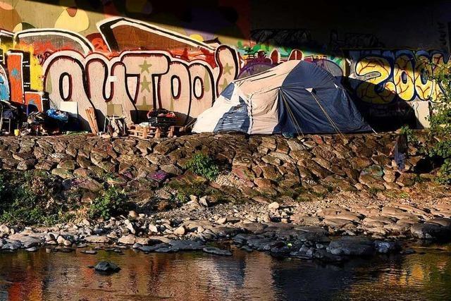 Warum Obdachlose in Freiburg auch bei Eiseskälte draußen schlafen