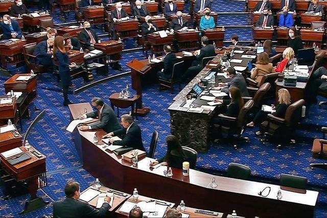Nun doch keine Zeugenaussagen in Impeachment-Prozess gegen Trump