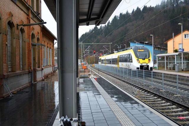 Die Elztalbahn fährt wieder – aber nur bis Waldkirch