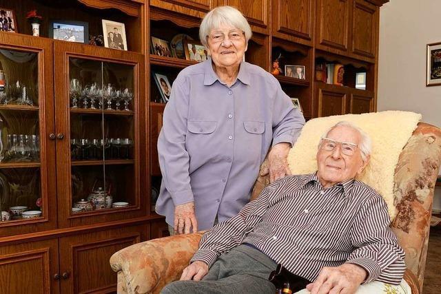 Ein 101-Jähriger und seine 90-jährige Frau wohnen seit 1950 in Freiburg