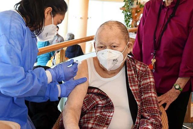 Zusätzliche Impftermine für über 80-Jährige in Offenburg