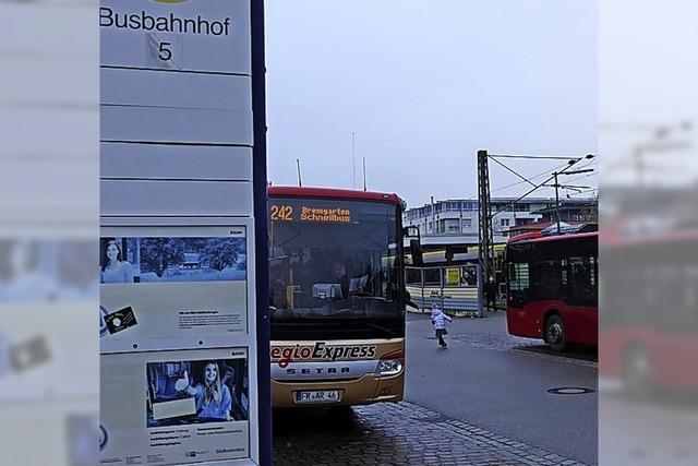 Weniger Busse für Bad Krozingen