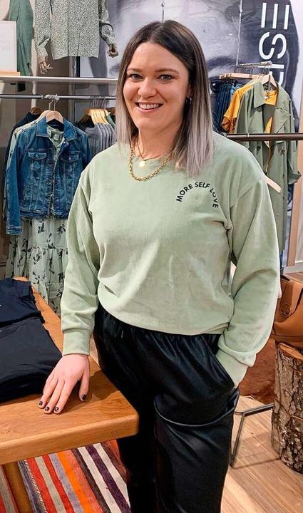 Nathalie Thoma, Geschäftsführerin des  Modehauses Asal.  | Foto: Nathalie Thoma