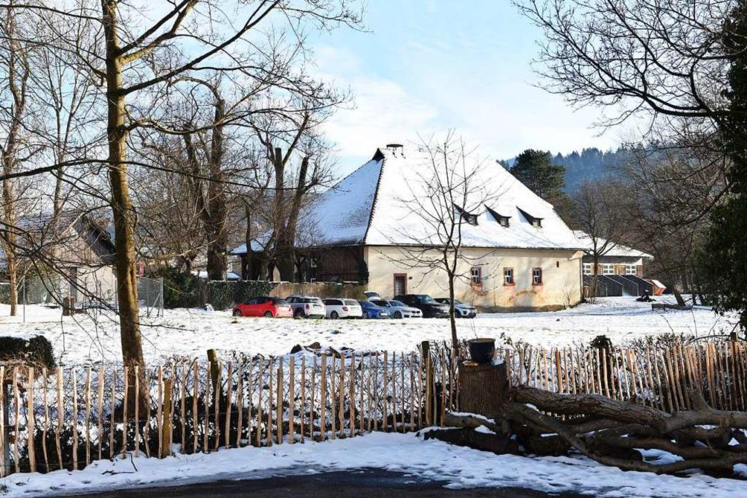 Der ehemalige Pferdestall des Schloss ...innen war Fotografieren nicht erlaubt.  | Foto: Rita Eggstein